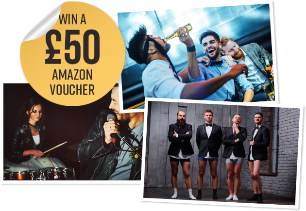 Win an Amazon voucher!