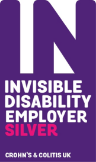 Invisible Disability Employer Silver Badge
